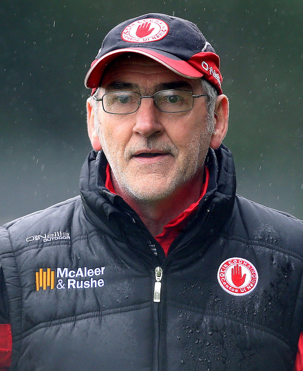 Happy to stay: Mickey Harte