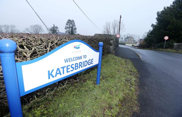 Katesbridge was the wettest part of the country overnight, seeing more than half its monthly average in a single day, with 56.6mm falling in the 24 hours to 8am yesterday - compared to its monthly average of 97mm, according to the Met Office