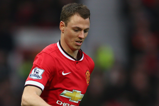 Jonny Evans looks set to leave Manchester United