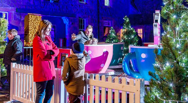 Tickets for the 'Christmas Experience' at the coastal courtyard venue, which will host 4,000 people over 10 days, sold out within hours of going on sale