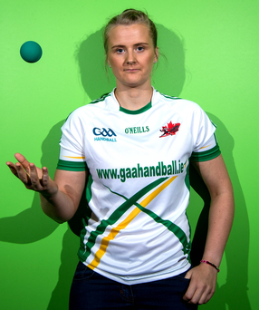Aisling Reilly claimed world titles in singles and doubles in Calgary, Canada