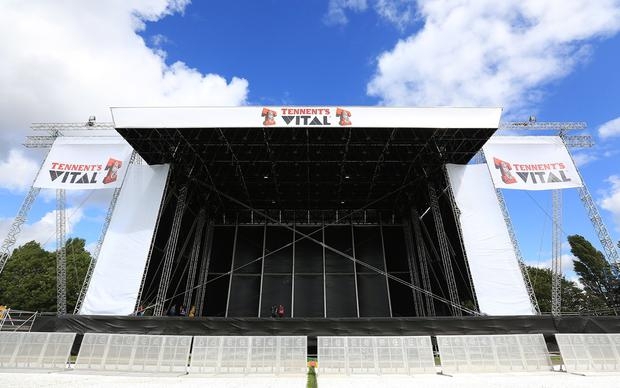Final preparations are underway for Tennents Vital 2015