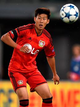 Here comes the Son: Heung-min has signed for Tottenham