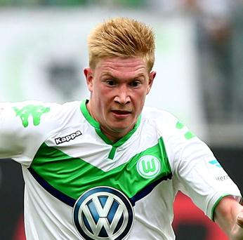 Big deal: Kevin De Bruyne has signed for Man City