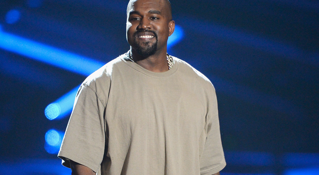 Kanye West won the Video Vanguard Award. Pic: Kevork Djansezian/Getty Images