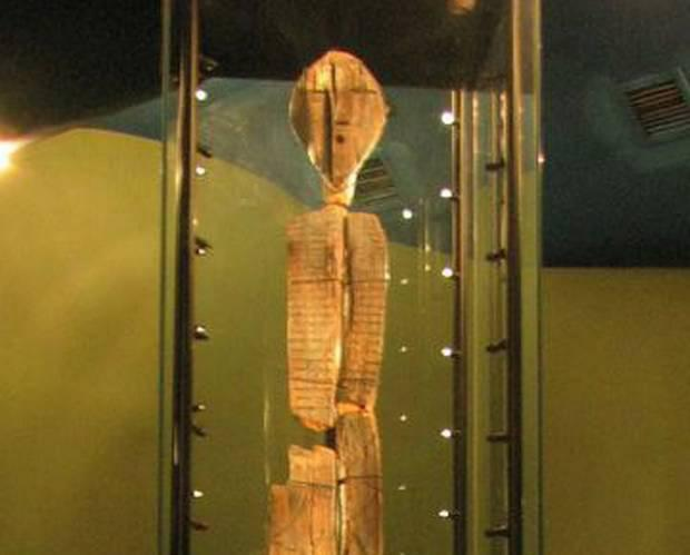Scientists now think the Shigir Idol, found in Siberia more than a century ago, is the world's oldest wooden sculpture