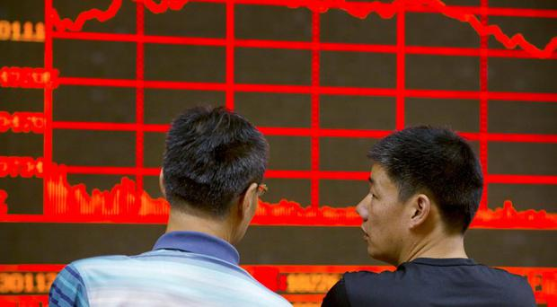 Chinese stock markets plummeted last week