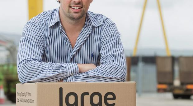 Paul Stewart, the boss of student shipping company Unibaggage.com