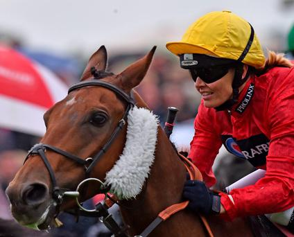 On track: Olympic cycling champion Victoria Pendleton in a different kind of saddle at Ripon