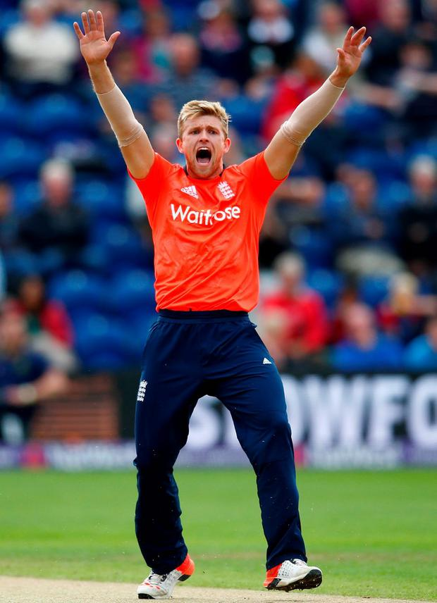 Victory roar: Ben Stokes hails his crucial final over