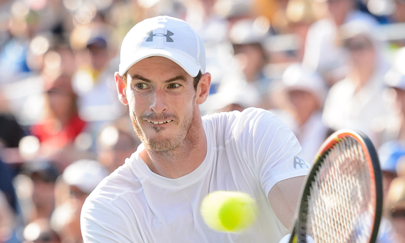 Tough draw: Andy Murray will face Nick Kyrgios in round one