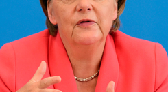 Angela Merkel wants a pan-European agreement on handling the migrant crisis