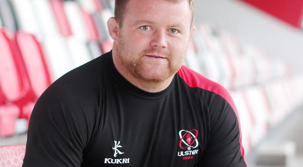 Pushing on: Andy Warwick wants to make a big contribution for Ulster after a successful summer with Emerging Ireland