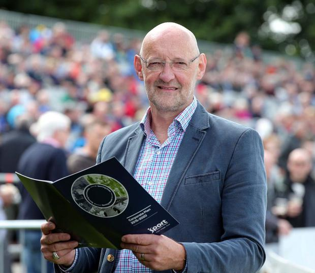 Blueprint for the future: Sport NI Chairman Brian Henning with the organisation's new Corporate Plan for 2015 to 2020