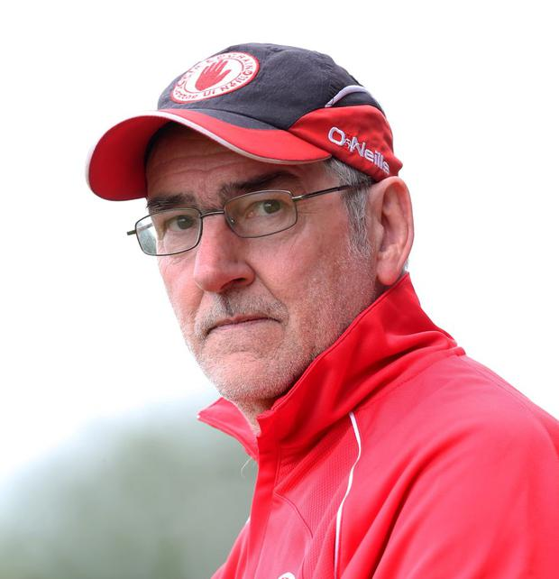 Limbo: Mickey Harte wants to carry on but is out of contract