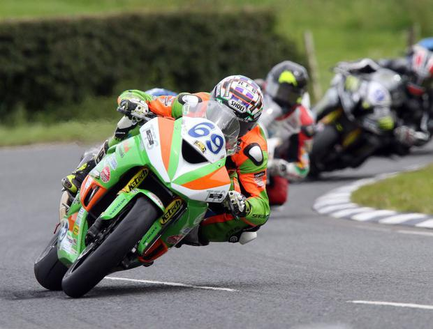 Aiming high: Glenn Irwin is hoping to be given a shot in the British Superbike class next year