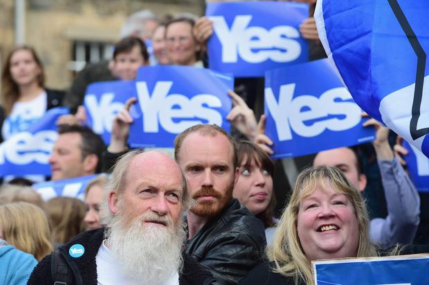 The total cost of the Scottish independence vote was £15.841 million