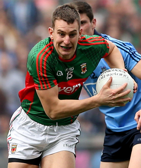 Starting Barry Moran is one option Mayo could use to add impetus to their forward line