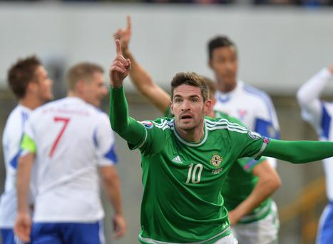 Kyle Lafferty was a standout as Northern Ireland pushed past the Faroe Islands