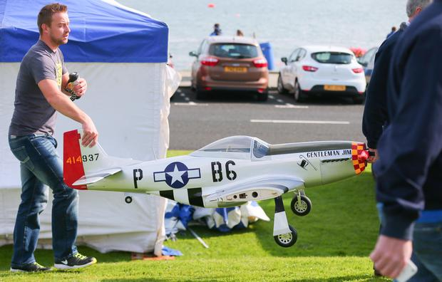 Airwaves Portrush 2015: Stall owners arriving with their products during. Photo: Kevin Scott / Presseye