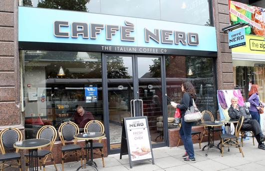 Cafe Nero re-opens. Donegall Square West, Belfast. Picture by Freddie Parkinson/Press Eye Tuesday 8th September 2015