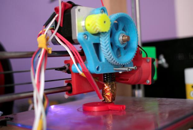 3D printer used to manufacture stethoscopes by Dr. Tarek Loubani