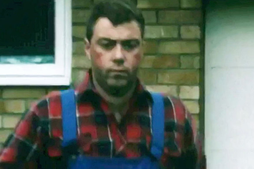 Steve Watson played the prime suspect in a reconstruction of events surrounding the murder. Pic BBC