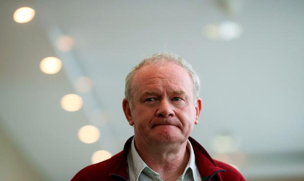Martin McGuinness said politicians had