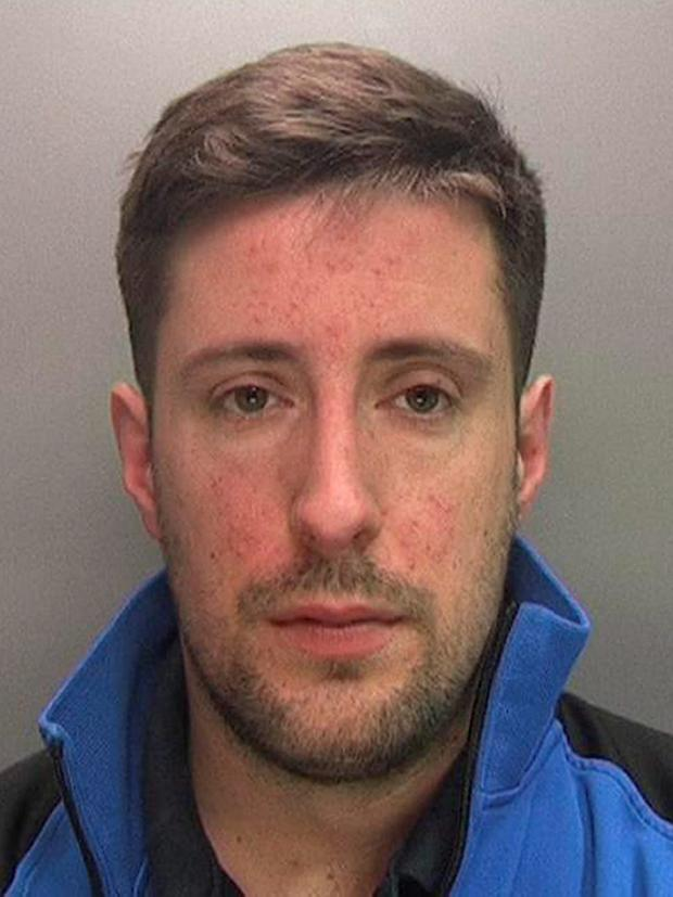 Samuel Bishop who has been jailed after he changed his ex-girlfriend's Facebook profile picture to a sexually graphic image more than four years after they broke up. West Midlands Police/PA Wire.