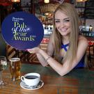 It's nearly closing time on the nominations for the bar person of the year award. Pictured is model Ashleigh Coyle at the launch of the Pub of the Year Awards in The Hudson Bar, Belfast. Pic: Darren Kidd/Press Eye.