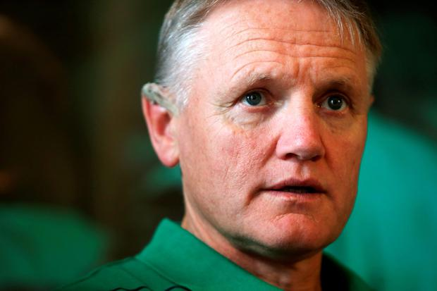 Joe Schmidt has adopted a