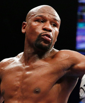 Floyd Mayweather announced his retirement after defeating Andre Berto