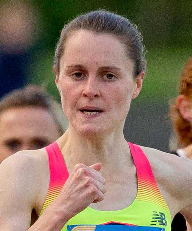 On her way: Ciara Mageean will represent Ireland in Rio