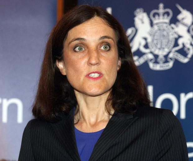 Secretary of State Theresa Villiers is expected to make statement to House of Commons on Tuesday. Photo: Matt Bohill/Pacemaker Press