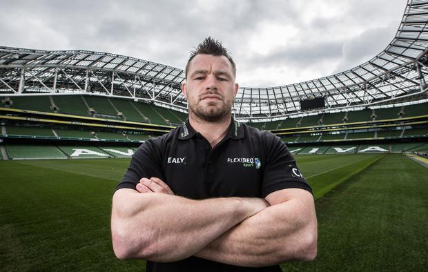 Crunch time: Cian Healy is back and ready to roll for Ireland