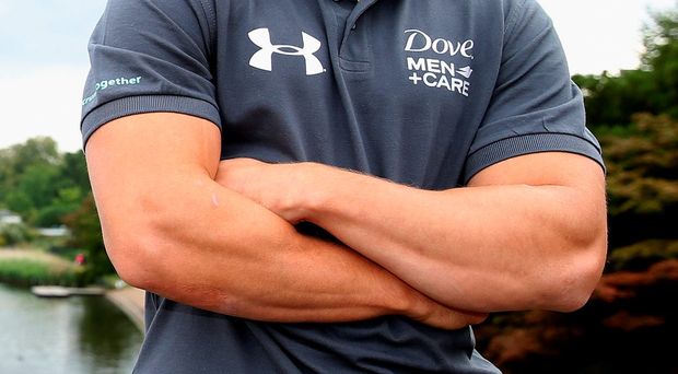 Tough time: Leigh Halfpenny is facing long spell out