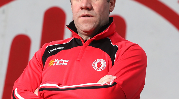 Tyrone Under-21 manager Feargal Logan