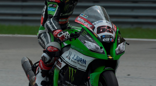 Six of the best: Jonathan Rea needs half a dozen points from the first race in Jerez to be crowned Superbike champion