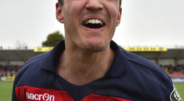 All smiles: Josh Robinson says Crues are in the groove