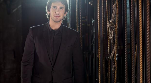 Josh Groban will play Belfast on Friday May 27, 2016
