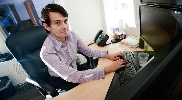 Above: Martin Shkreli. Turing Pharmaceuticals increased the price of Daraprim from $13.50 to $750 per pill, hitting people with immune systems weakened by Aids, chemotherapy or pregnancy