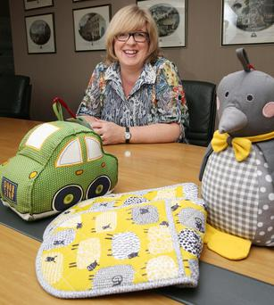 Wendy Hamilton, Ulster Weavers' commercial director