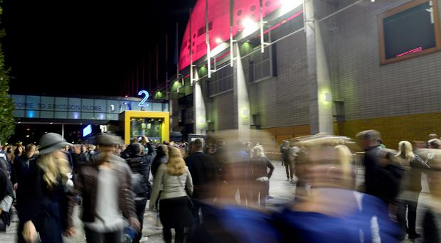 U2 were forced to cancel a concert in Sweden after a security breach prompted police to evacuate the Globe Arena in Stockholm