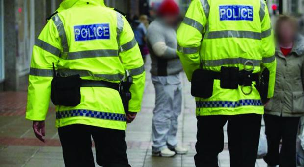 PSNI:Community Policing/Police Oficers walk the Streets of Belfast City Centre to help reduce Crime in our Streets