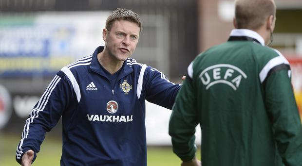 Experienced coach: ex-international Stephen Craig is also the manager of the Nothern Ireland U19 side