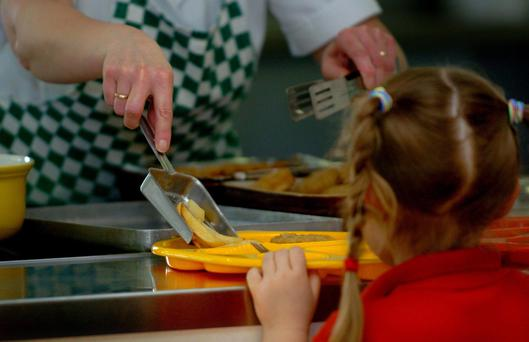 More than 8,000 children who are entitled to free school meals do not claim them, it has emerged. Stock Image