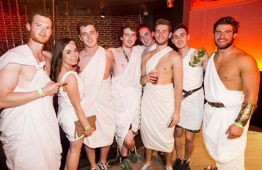 TOGA, TOGA! People out at The Fly for Fresher's Week. Thursday 24 September 2015 by Liam McBurney/RAZORPIX ?