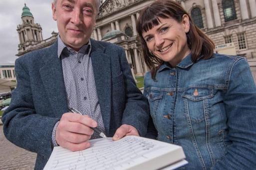 The world premiere of the BabyDay Lullaby, written by award-winning composer Neil Martin, will be held at Belfast City Hall.