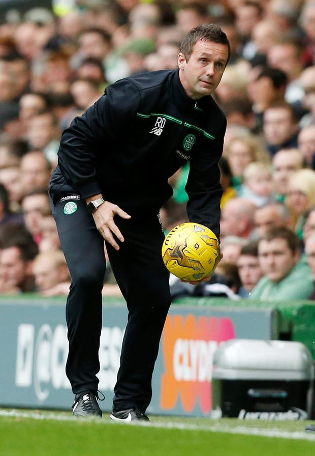 Must do better: Ronny Deila has warned his Celtic players
