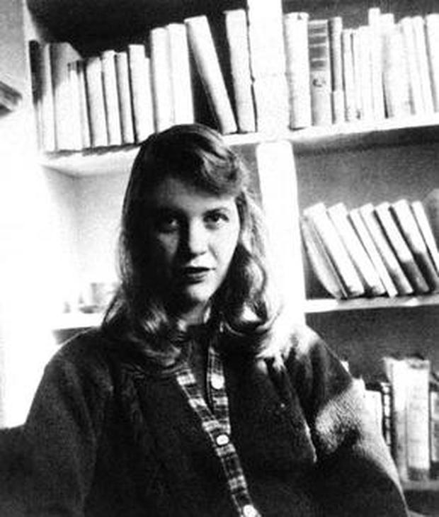 Ted Hughes married Sylvia Plath (above) in 1956. They separated about six months before her death in 1963